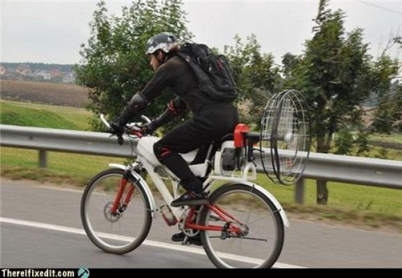 Как сделать электровелосипед из обычного велосипеда 66
